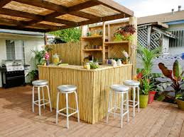 Tropical Outdoor Kitchen Designs Cool Decorating