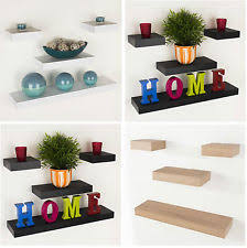 office shelf unit. Floating Wall Shelf Wood Effect Shelving Shelves Unit Kit Display Home Office