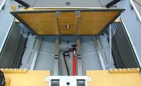 under floor storage middle
