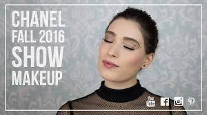 chanel fall 2016 fashion week make up look