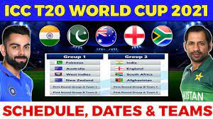 T20 World Cup 2021 - Full Schedule ...