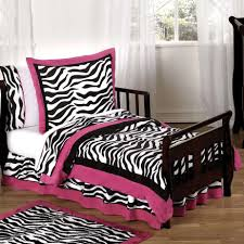 Stunning Home Decoration With Zebra Room Accessories : Contemporary Girl Bedroom  Design Ideas With Pink Zebra