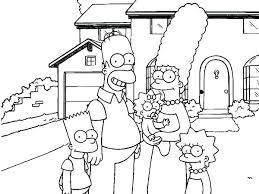 House Coloring Page The Coloring Pages The In Front Of Their House