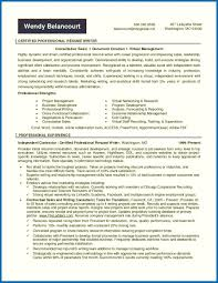 Resume Skills And Certifications Resume Writing Certification With