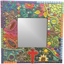 Learn How to Make This Mosaic Mirror