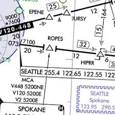 geg spokane international airport skyvector ifr chart of kgeg