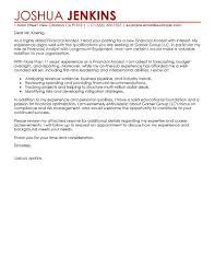 Finance Officer Cover Letter Education Support Cover Letter