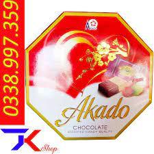 Kẹo Sôcôla Samilk Màu đỏ 200g - Tạp Hóa Kỷ Tươi - Sữa Bột - Bỉm - Mỹ Phẩm
