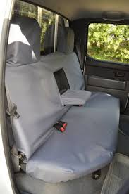 grey rear bench seat cover for ford