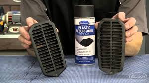how to re plastic repair faded plastic trim with plastic resurfacer from eastwood you