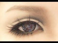 tutorial anime eye makeup 3