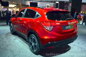 Honda HR-V prototype for Europe rear three quarter at 2014 Paris ...
