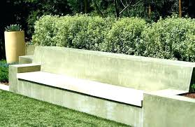 concrete garden bench. Concrete Garden Chair Bench Molds With Back Large Benches T