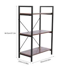 Details About 5 Style Wood Bookcase Shelf Ladder Bookshelf Storage Display Rack Furniture Us