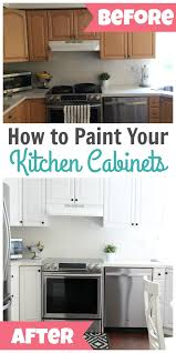 How To Paint Kitchen Cabinets Diy Ideas Painting Kitchen