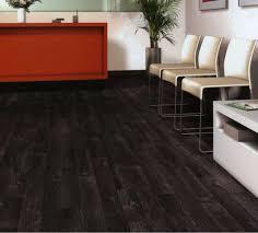 image of painting hardwood floors black