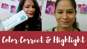 how to color correct highlight using kryolan dermacolor palette kryolan dermacolor concealer