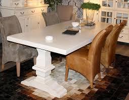 Details Zu Massivholz Esstisch 240x100cm Mit Klosterfuß Fichte Eßzimmer Tisch Creme Vintage
