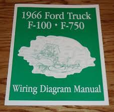 1966 ford truck pickup s brochure 66 f 100 f 250 13 50 picclick 1966 ford truck f100 f750 wiring diagram manual brochure 66