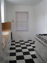 Checkerboard Kitchen Floor Black And White Sheet Vinyl Flooring All About Flooring Designs