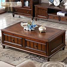 madera coffee table minimalist living room coffee table solid wood furniture country retro small apartment cabinet
