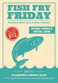 Friday Fish Fry Invitation Download Free Vectors Clipart