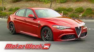Quick Spin 2017 Alfa Romeo Giulia Ferrari Power Without The Price Youtube