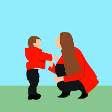 Image result for mom and son cartoon