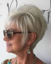 Coupes De Cheveux Courtes Pour Les Femmes De Plus De 50 Ans