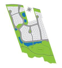 real estate colorized subdivision lot map  dv creative design