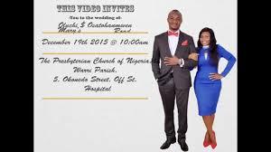 oluchi $ osatohanmwen wedding video invitation youtube Lisa Raye Wedding Video Invitation Lisa Raye Wedding Video Invitation #15 Queen Latifah Wedding