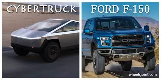 Ford Truck Comparison Chart Tesla Cybertruck Vs 2020 Ford F 150 All Models Comparison