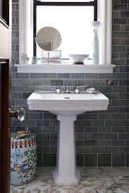 bathroom gray subway tile. Grey Subway Tile Bathroom Transitional With Pre-war Apartment Gray