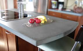 cleaning concrete countertops