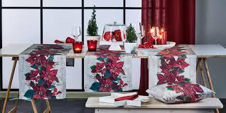 Apelt Weihnachtssterne Tischläufer