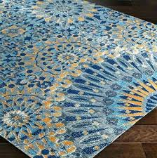 orange rugs for architecture turquoise and me regarding blue area rug prepare oval mistana hillsby