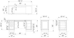 office desk plan. desk elevation office plan b