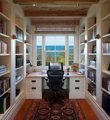 home office small. Small Home Office With Library