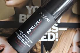 l oreal infallible makeup extender setting spray review