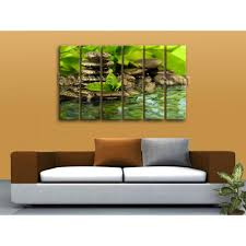 X Large Contemporary Feng Shui Zen Wall Art Canvas Print Within Feng Shui  Wall Art (