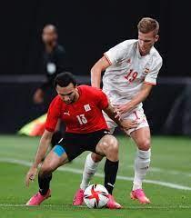 """وقفة كروية: الكثافة الدفاعية وتألق الكبار"""".. عوامل منحت منتخب مصر نقطة  ثمينة أمام إسبانيا"""