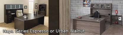 Walnut office furniture Bonsai Tree Napa Espressourban Walnut Napa Espressourban Walnut Markets West Office Furniture Phoenix Az