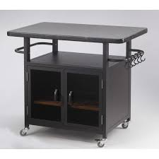 Granite Top Kitchen Cart The Outdoor Greatroom Company Bistro 24 Cabinet With 36 Granite