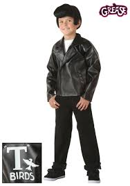 kids grease t birds jacket