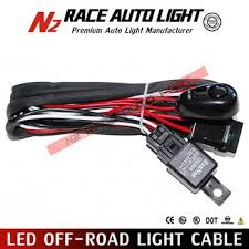 led off road light cable wiring harness switch led light bar mictuning wiring harness installation at Light Bar Wiring Harness Bulk