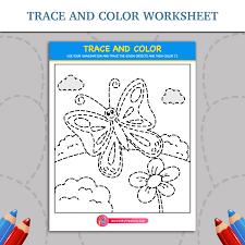 shapes tracing worksheets | Inky Treasure