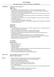 Examples Of Lpn Resumes Lpn Nurse Resume Samples Velvet Jobs