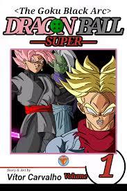 Goku Black Arc Manga Cover By Vitorrafaellealcarva On