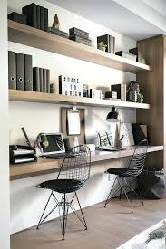 office shelving ideas i think i really want a narrow dual desk space office shelving storage