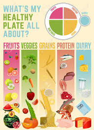 Zumba Diet Chart Healthy Nutrition Chart Eating Plate Concept Infographic